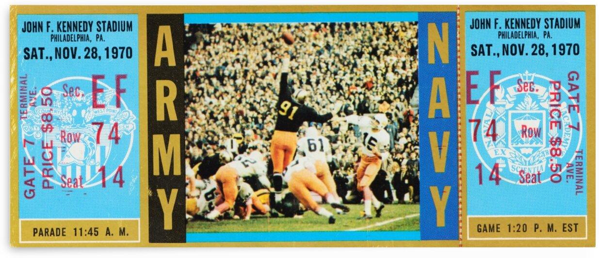 1970 Army vs. Navy by Row One Brand
