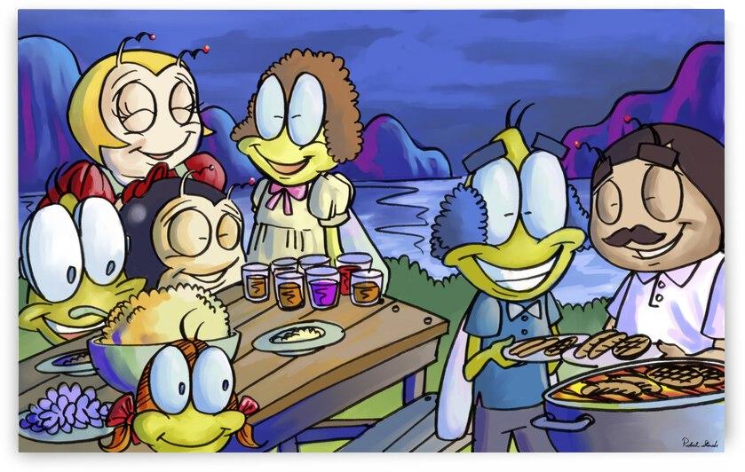 A Dream of Summer - Family - Bugville Critters by Robert Stanek