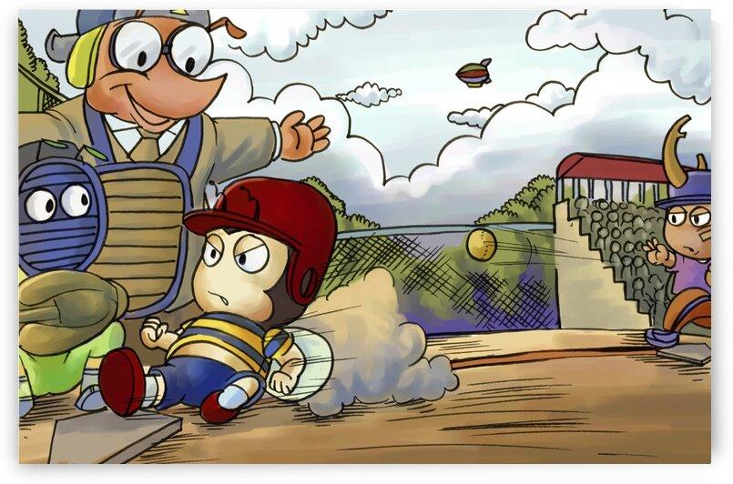 Play Ball - Home base slide - Bugville Critters by Robert Stanek