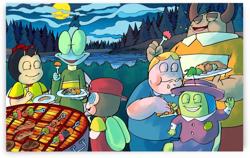 Summer Camp - Cookout - Bugville Critters by Robert Stanek