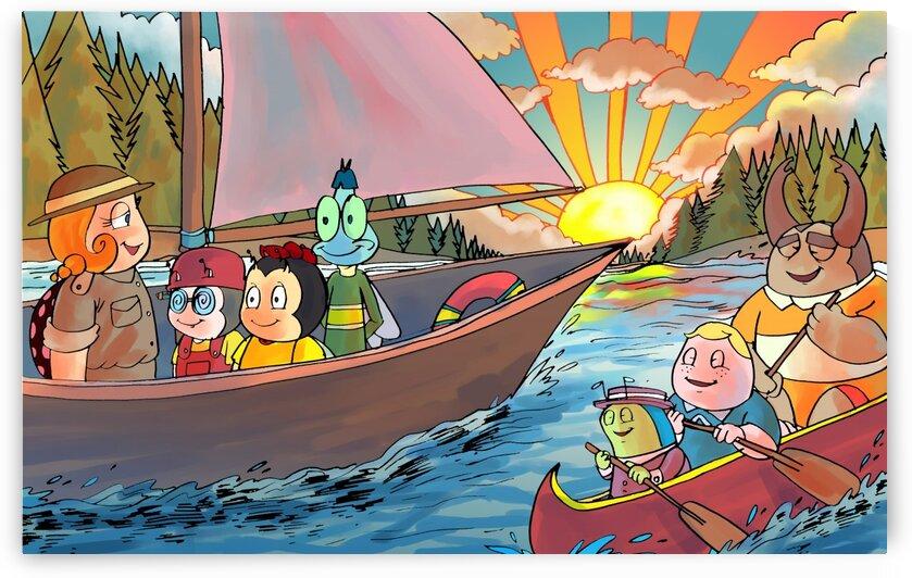 Summer Camp - Sailing - Bugville Critters by Robert Stanek