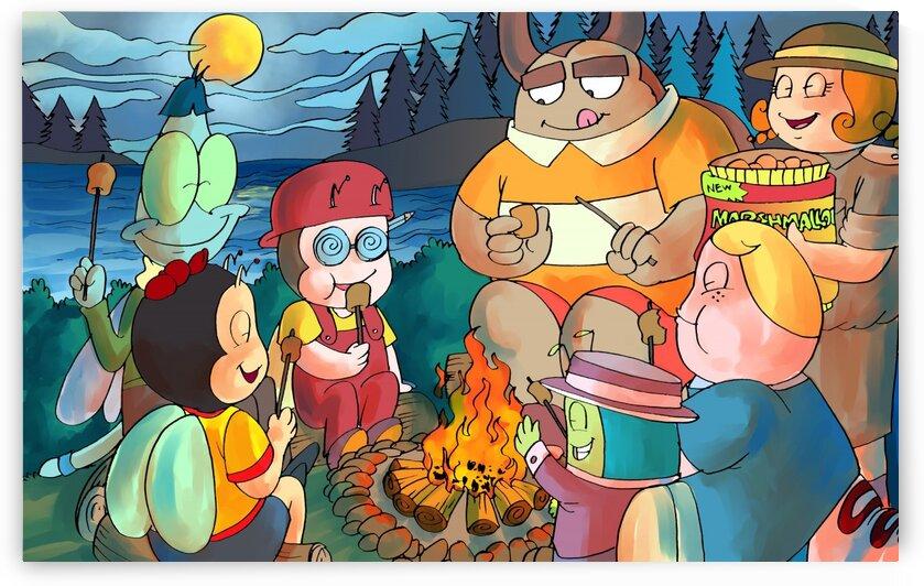 Summer Camp - Bonfire - Bugville Critters by Robert Stanek