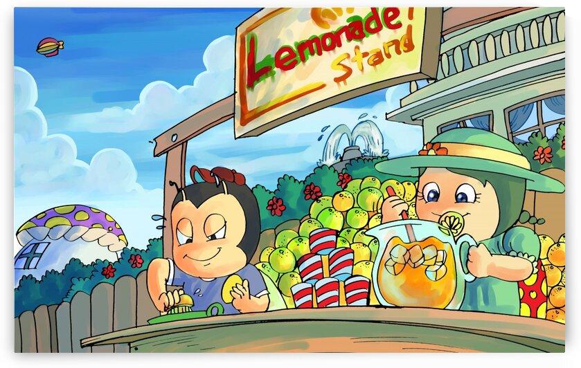 Lemonade Stand - Bugville Critters by Robert Stanek