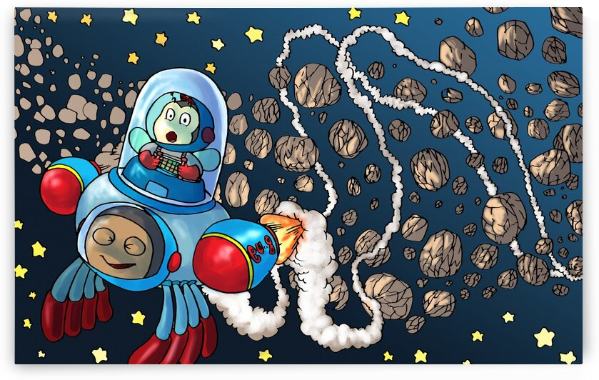 Buzzing Around the Solar System in a Rocket Ship - Bugville Critters by Robert Stanek