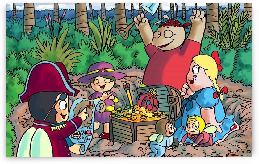 Hidden Treasure - Pirates - Bugville Critters by Robert Stanek