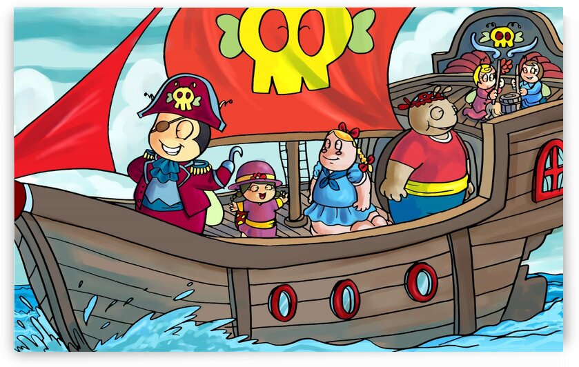 Pirate Ship on the High Seas - Bugville Critters by Robert Stanek