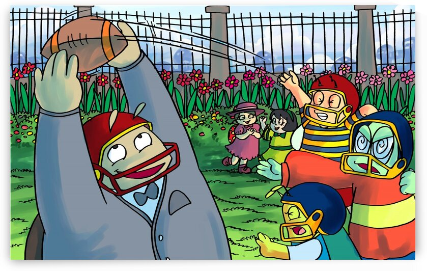 Football With Friends - Bugville Critters by Robert Stanek