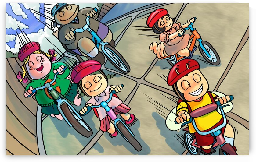 Riding Bikes - Bugville Critters by Robert Stanek