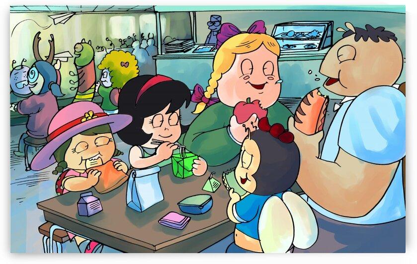 Lunch Break - Bugville Critters by Robert Stanek