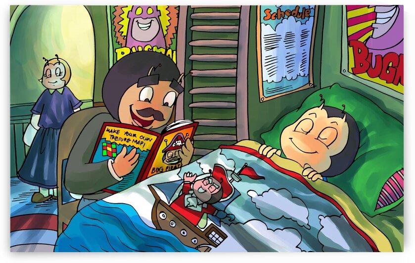 Bedtime stories - Bugville Critters by Robert Stanek