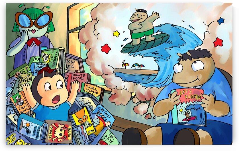 Library Daydreams 2 by Robert Stanek