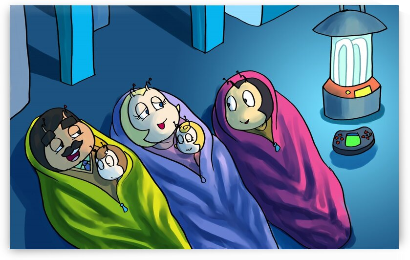 Bedtime - Staying In - Power outage - Bugville Critters by Robert Stanek