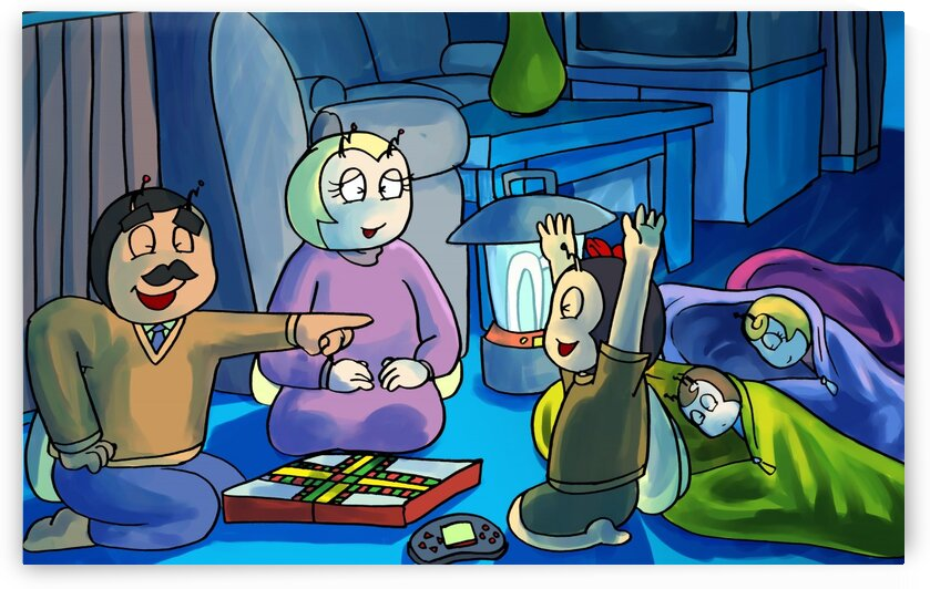 Games by Camp Light - Staying In - Power outage - Bugville Critters by Robert Stanek
