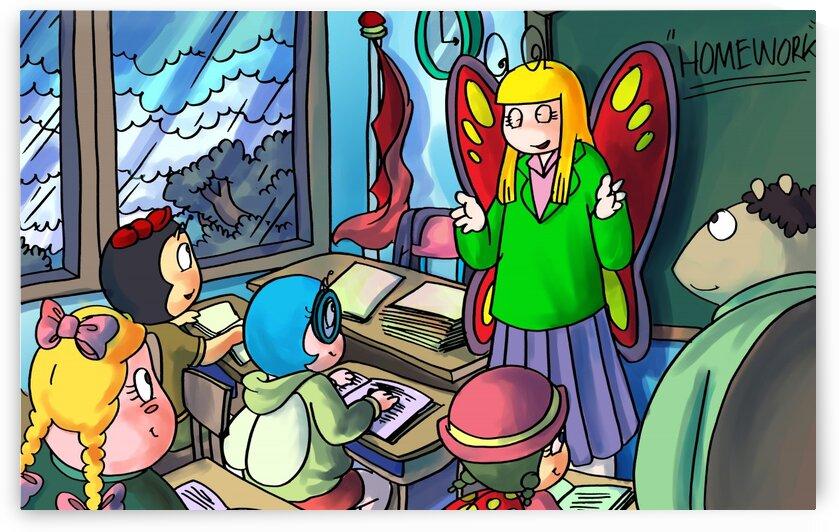 Classroom - Bugville Critters by Robert Stanek