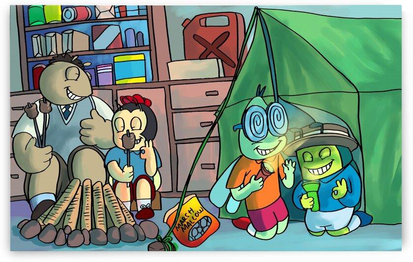 Blanket Fort - Bugville Critters by Robert Stanek