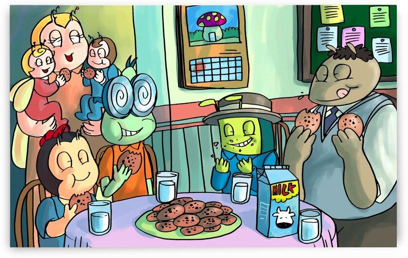 Cookie Break - Bugville Critters by Robert Stanek