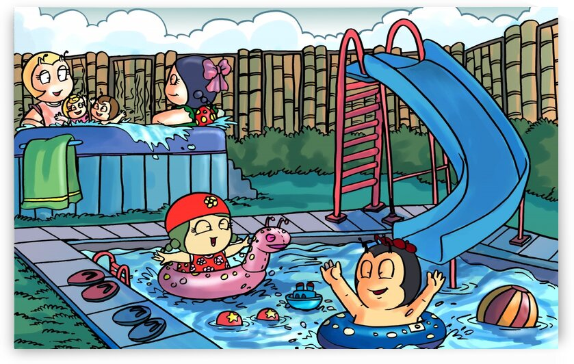 Pool Party by Robert Stanek