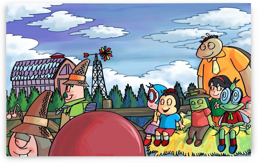 Harvest Festival - Bugville Critters by Robert Stanek