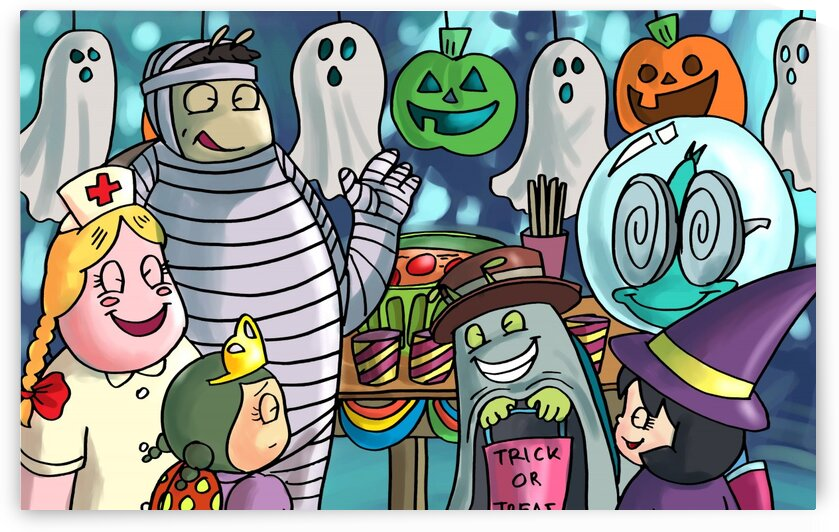 Halloween Party - Bugville Critters by Robert Stanek