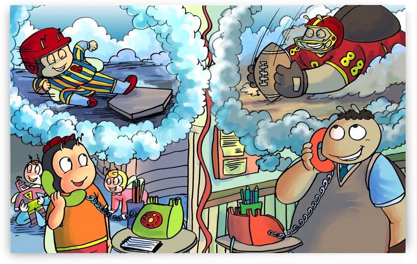 Sports Daydream - Bugville Critters by Robert Stanek