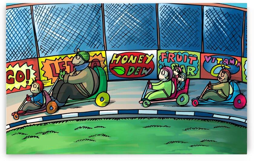 Go Karts - Bugville Critters by Robert Stanek