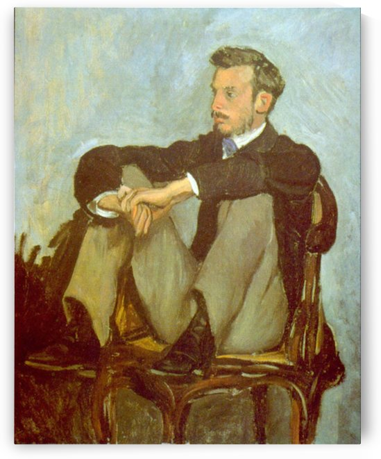 Renoir by Bazille by Bazille