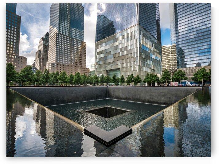 9-11 memorial by Andrew Wasik
