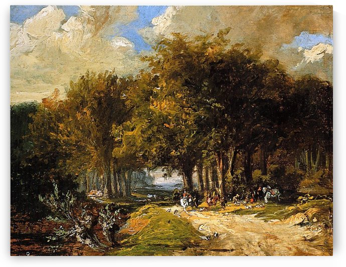 The resting place Sun by Willem Roelofs