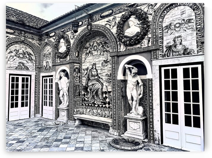 Palace Fronteira Terrace by Steve Hauer - Originals