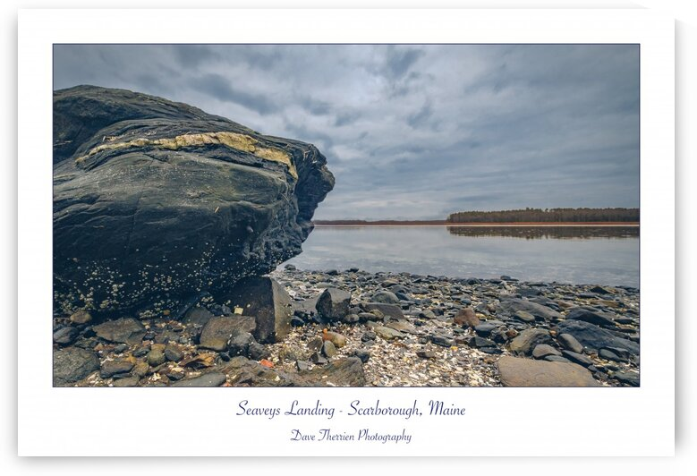 The Rock at Seaveys by Dave Therrien