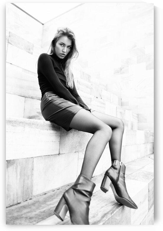 Fashion model by Aquamarine