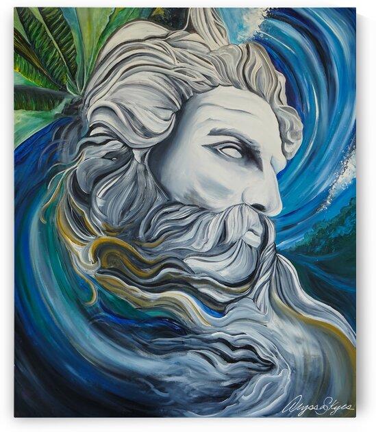 Poseidon by Alyssa Skyes