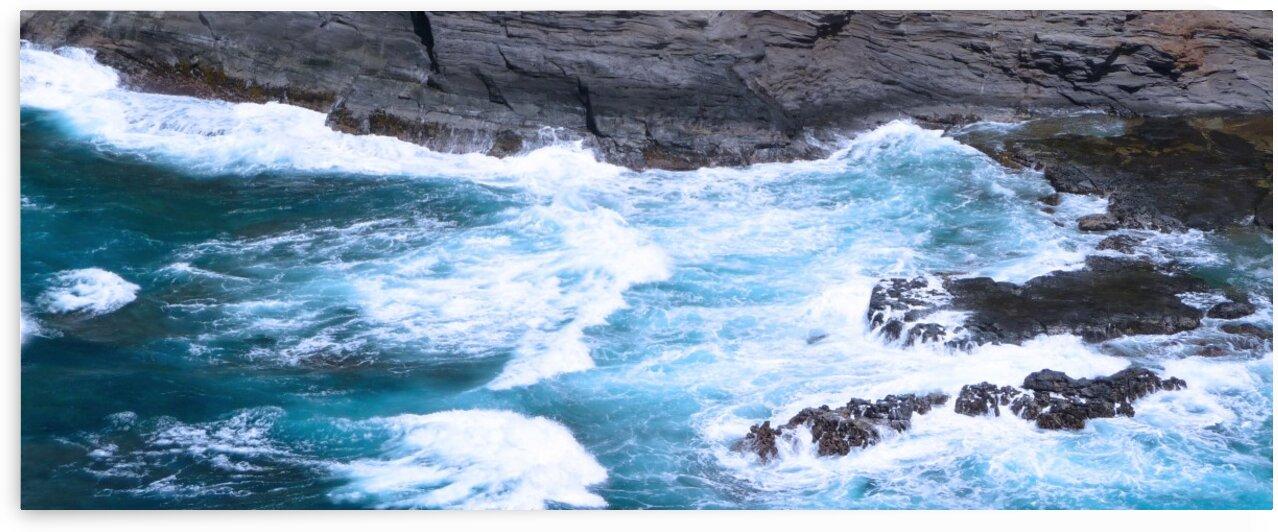 Swirling Blue Seas by 360 Studios