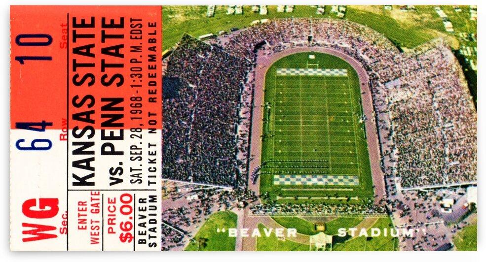 1968 Penn State vs. Kansas State by Row One Brand