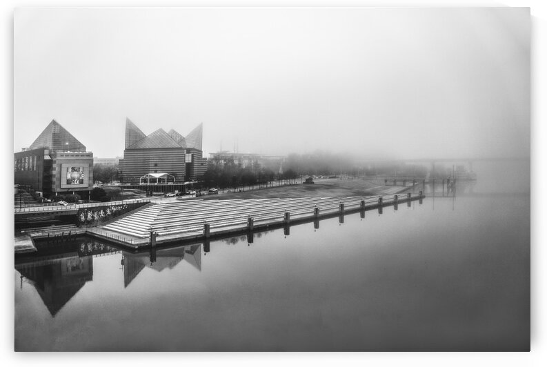 Foggy Riverfront by SimplyNoogaPics