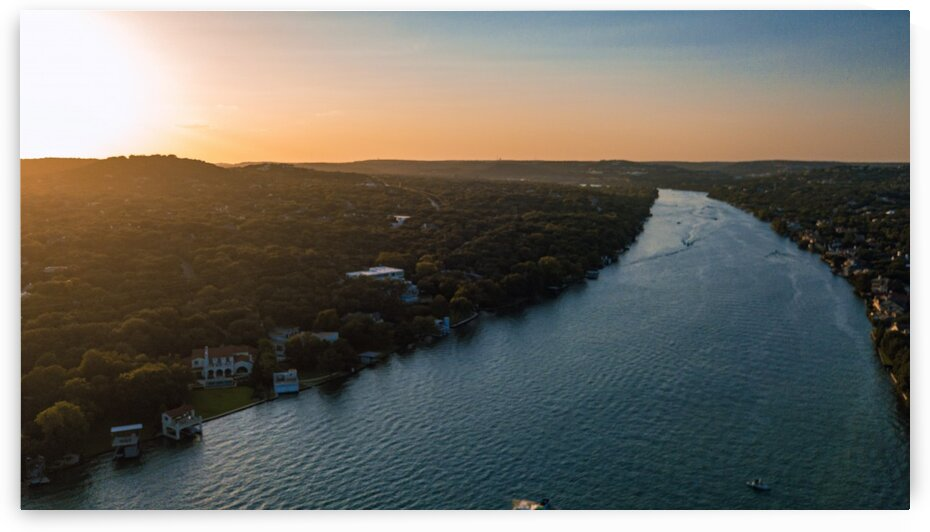 Mt Bonnell Sunset   final by Ashby
