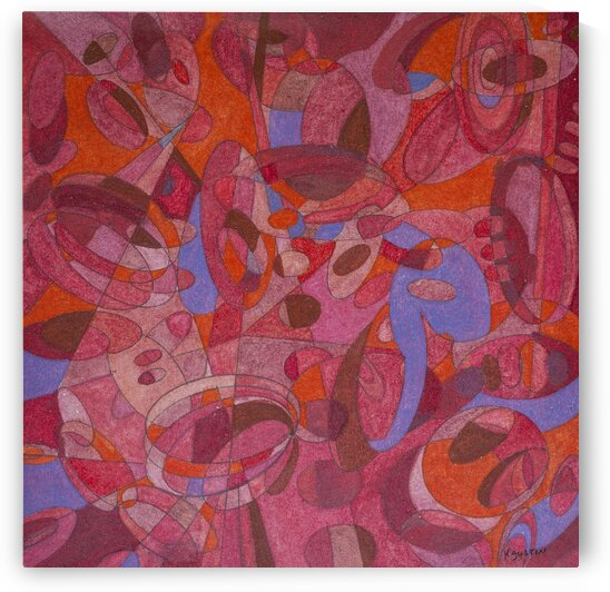 ABSTRACT SHAPES 15 - ORIG FOR SALE by Keith Gustin