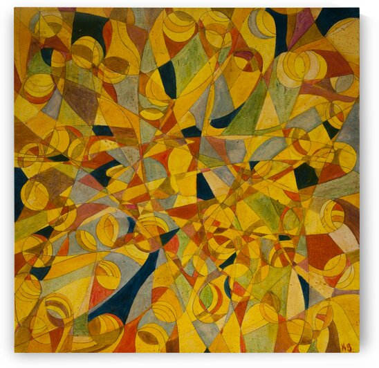 ABSTRACT SHAPES 17 - ORIG FOR SALE by Keith Gustin