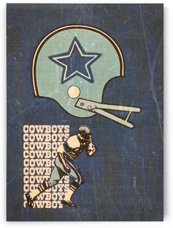 1976 Dallas Cowboys Wall Art by Row One Brand