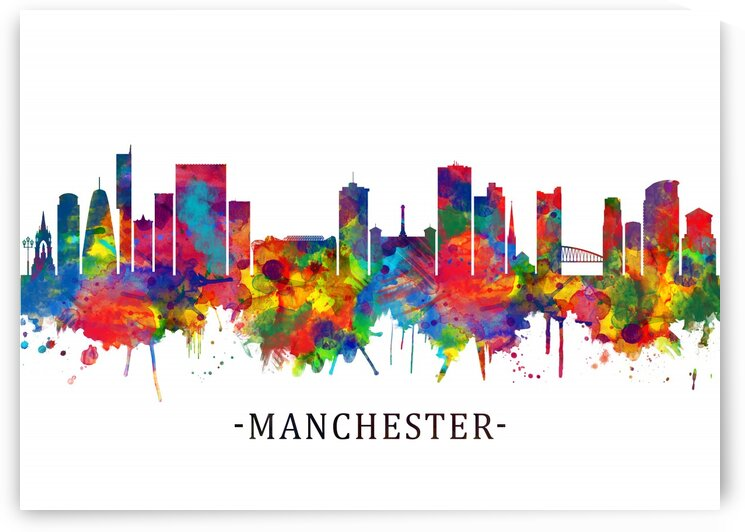 Manchester Skyline by Towseef Dar