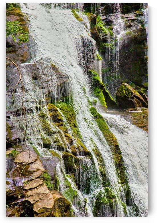 Water Flowing Over Rocks_Luminar4 edit by Darryl Brooks