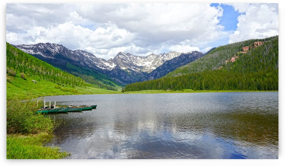 Rocky Mountain Reflections by 360 Studios