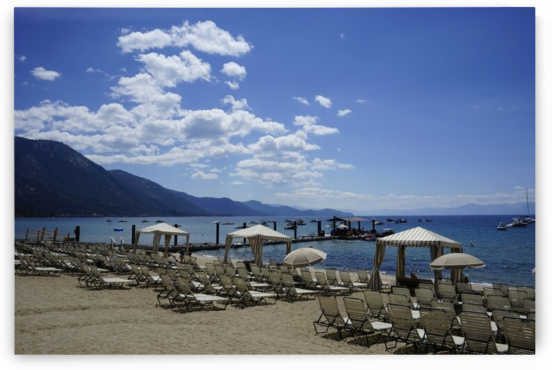 Lake Tahoe Day at the Beach by 360 Studios