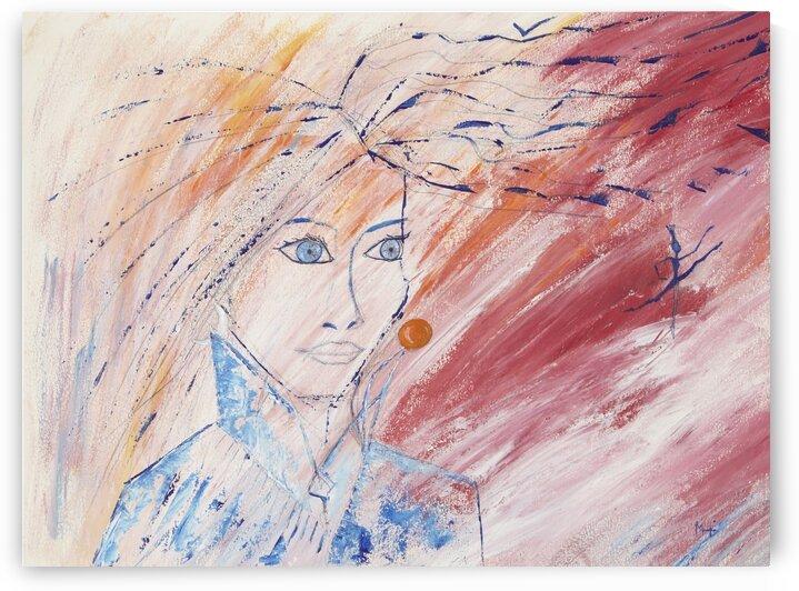 Flying Lady. by Martine Harris