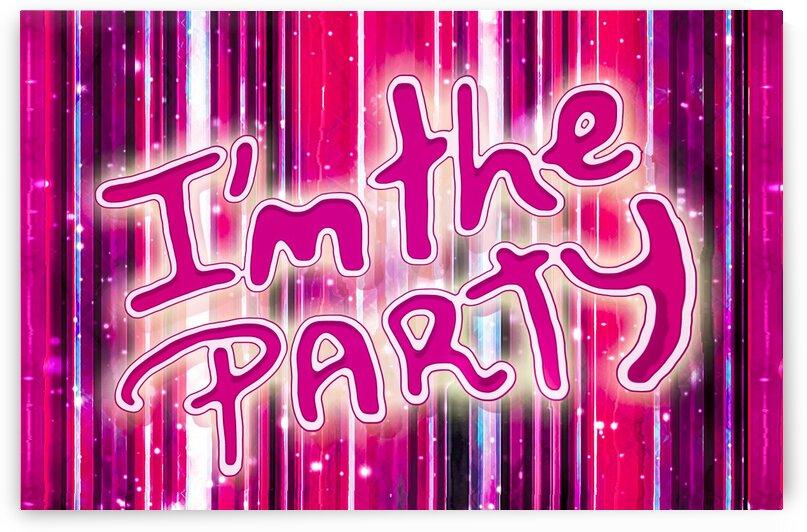 Party Concept Typographic Design by Daniel Ferreia Leites Ciccarino