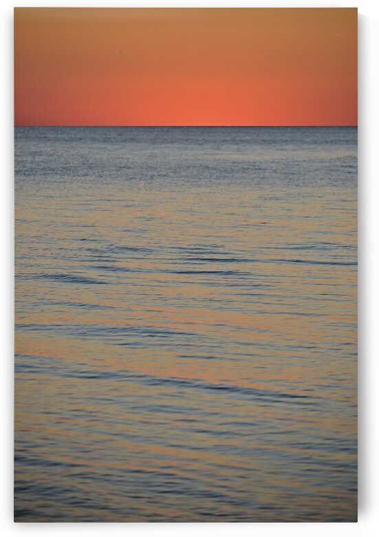 Peaceful Gulf Evening by Shadow and Form
