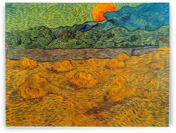 Rising Moon by Van Gogh by Van Gogh