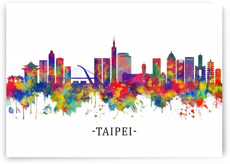 Taipei Taiwan Skyline by Towseef Dar