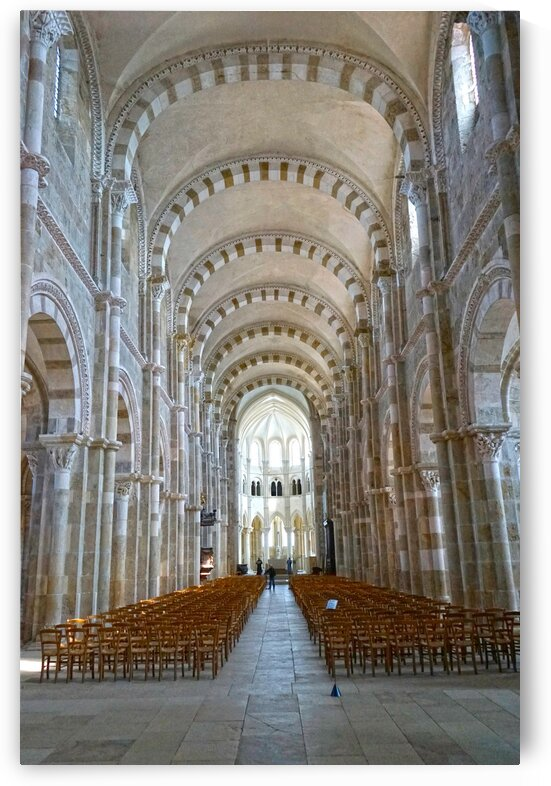 Basilica of Sainte Marie Madeleine 4 of 5 @ Vezelay France by 1North