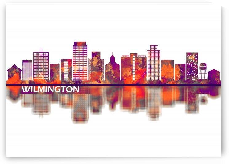Wilmington Delaware Skyline by Towseef Dar